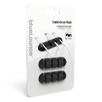 Bluelounge CDMU-BL CableDrop Multi Desk CableDrop Multi, TPU Cable holder Black