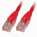 Generic 0.5m Red Cat5e UTP Patch / Straight Networking Cable