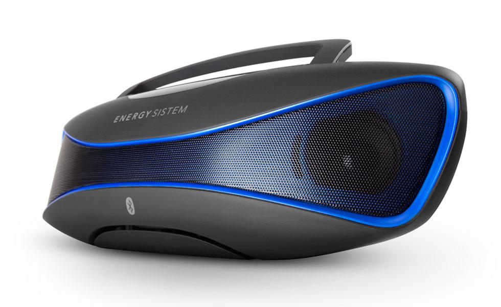 Energy Sistem Music Box BZ6 12 W Altavoz portátil estéreo Negro, Azul
