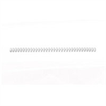 GBC ClickBind Binding Spines 8mm A4 White (50)