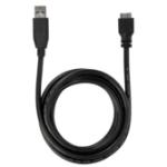Targus ACC1005EUZ USB cable 1.8 m USB 3.2 Gen 1 (3.1 Gen 1) USB A Micro-USB B Black