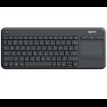 Logitech K400 Pro USB QWERTZ German Graphite,Grey keyboard