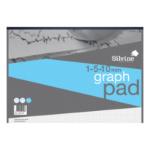 Silvine A3 Graph Pad 1/5/10mm 90gsm