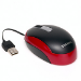 Toshiba compact optical mouse - red & black; project based product;