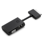 HP Dock Connector to Ethernet and VGA Adapter
