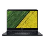 "Acer Spin SP714-51-M24B 1.30GHz i7-7Y75 14"" 1920 x 1080pixels Touchscreen Black Hybrid (2-in-1)"