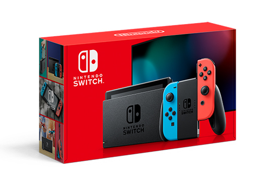 """Nintendo Switch portable game console 15.8 cm (6.2"""") 32 GB Touchscreen Wi-Fi Blue, Grey, Red"""