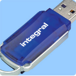 Integral 8GB USB 2.0 Courier Flash Drive 8GB USB flash drive