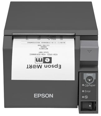 Epson TM-T70II (024C1) Thermal POS printer 180 x 180 DPI Wired