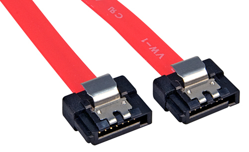 Lindy Internal SATA, 0.50m SATA cable 0.5 m Red