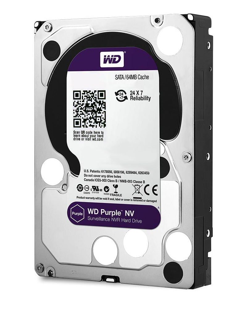 "Western Digital Purple NV 3.5"" 8000 GB Serial ATA III"