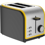 Zanussi ZST-6579-YL toaster 2 slice(s) 800 W Grey, Yellow