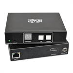 Tripp Lite DisplayPort Audio/Video with RS-232 Serial and IR Control over IP Extender Kit, 1920 x 1080 (1080p) @ 60 Hz, 200 m