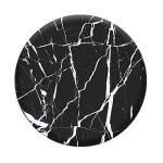 PopSockets Black Marble Mobile phone/Smartphone Black, Marble color