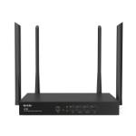 Tenda W18E wireless router Dual-band (2.4 GHz / 5 GHz) Gigabit Ethernet Black