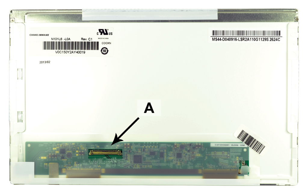 2-Power 10.1 WSVGA 1024x600 LED Matte Screen - replaces 633499-001