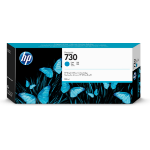 HP 730 300-ml Cyan DesignJet Ink Cartridge
