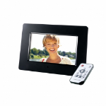 "Intenso Photo Agent Plus digital photo frame 17.8 cm (7"") Black"