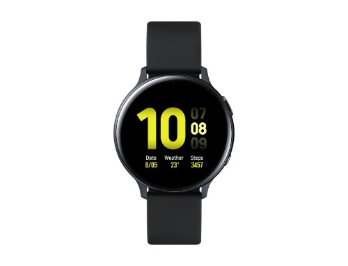 """Samsung Galaxy Watch Active 2 smartwatch Black SAMOLED 3.43 cm (1.35"""") GPS (satellite)"""