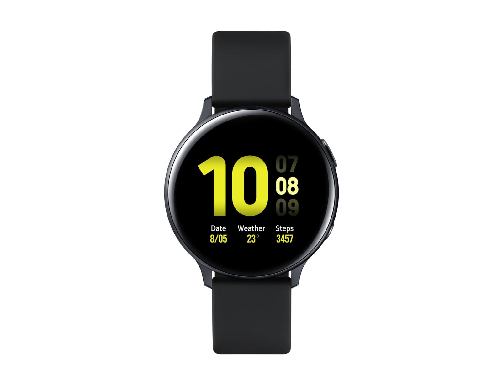 Samsung Galaxy Watch Active 2 smartwatch Black SAMOLED 3.43 cm (1.35