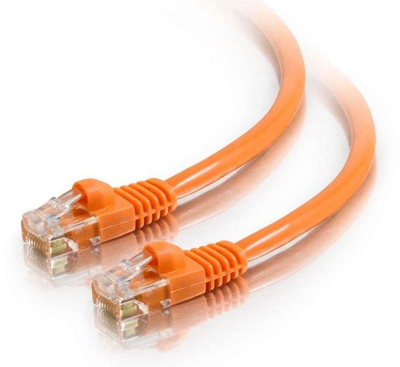 Astrotek CAT6 Cable 0.25m/25cm - Orange Color Premium RJ45 Ethernet Network LAN UTP Patch Cord 26AWG-CCA PVC