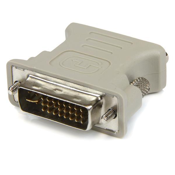 StarTech.com Paquete de 10 Adaptadores Conversores DVI-I a VGA - DVI-I Macho - HD15 Hembra - Color Beige