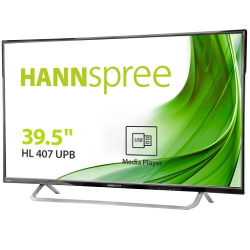 """Hannspree HL 407 UPB 100.3 cm (39.5"""") VA Full HD Black Built-in processor"""