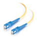 C2G 85568 cable de fibra optica 1 m OFNR SC Amarillo