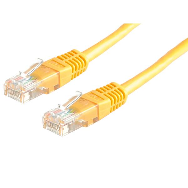 UTP PatchCord Cat6. CCA. Yellow. 1.5m