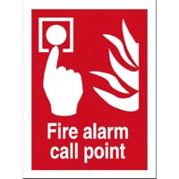 Stewart Superior Fire Alarm Call Point Sign