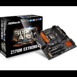 Asrock Z170M Extreme4 Intel Z170 LGA1151 Micro ATX