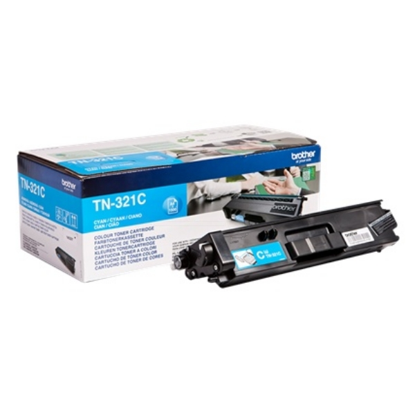 Brother TN-321C Toner cyan, 1.5K pages