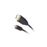 iogear GHDC3402 2m HDMI Micro-HDMI Black HDMI cable