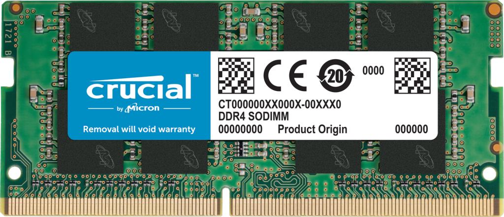 Crucial CT8G4SFRA266 módulo de memoria 8 GB 1 x 8 GB DDR4 2666 MHz
