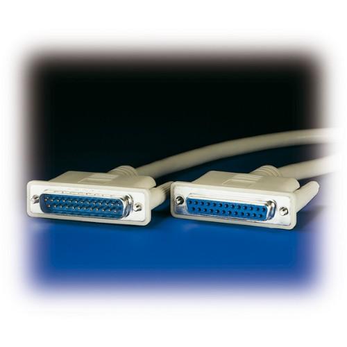 ROLINE RS232 Cable, M - F 1.8 m
