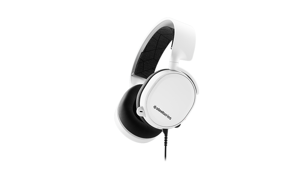 Steelseries Arctis 3 headset Binaural Head-band Black, White