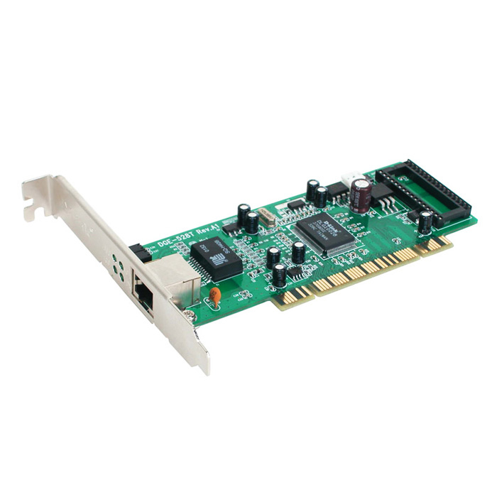 D-LINK 32BIT PCI Bus Copper RJ45 Gigabit Ethernet Adapter IN - DGE-528T
