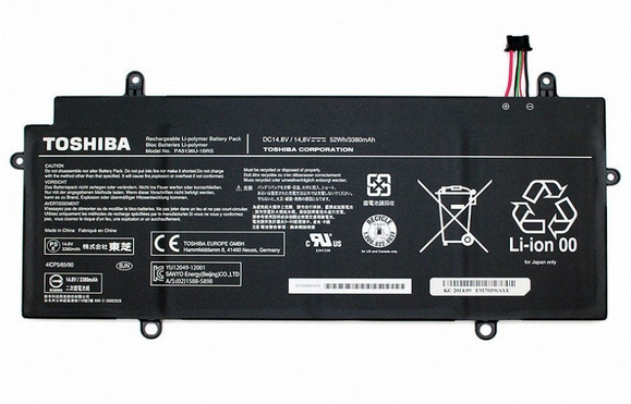 Toshiba Li-Po 3380mAh Lithium-Ion Polymer 3380mAh 14.8V rechargeable battery