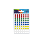 Avery Coloured Labels Round 8mm Dia Assorted 32-291 PK10x560