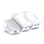 TP-LINK TL-WPA4220T KIT PowerLine-netwerkadapter 300 Mbit/s Ethernet LAN Wi-Fi Wit 3 stuk(s)