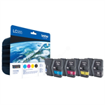 Brother LC-985VALBP Ink cartridge multi pack, 300pg + 3x260pg, Pack qty 4 LC985VALBP