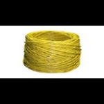 "Raritan CRLVR-1-5PK networking cable 11.8"" (0.3 m) Yellow"