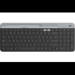 Logitech K580 keyboard RF Wireless + Bluetooth Graphite