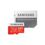 Samsung EVO Plus 2020 memory card 256 GB MicroSDXC Class 10 UHS-I