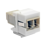 Tripp Lite N455-000-WH-KJ fiber optic adapter LC/LC White 1 pcs