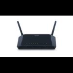D-Link DSL-2740B wireless router Black