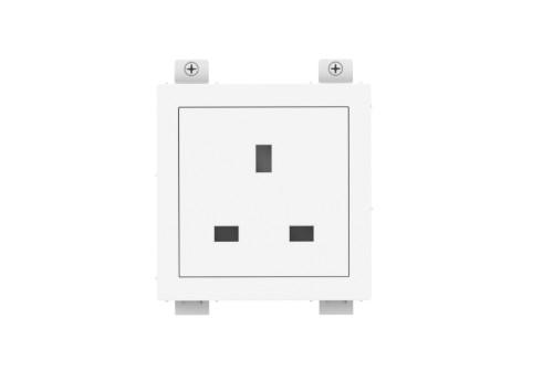 Vision TC3 PWRUK socket-outlet Type G (BS 1363) White