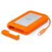 LaCie Rugged RAID external hard drive 4000 GB Orange,Silver