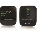 British Telecom 079029 Network transmitter & receiver Black