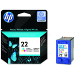HP C9352AE (22) Printhead color, 165 pages, 5ml